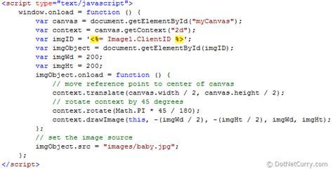 Javascript Rotate Image Rotate An Asp Net Image Using Html 5 Canvas