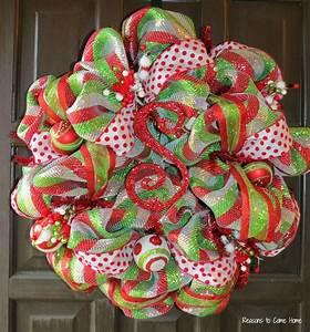 Deco, Mesh, Wreaths