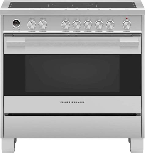 fisher paykel   standing electric range brushed stainless steel orsdix hudson