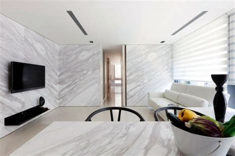 marble shapes the creation of a small apartment in interior design ideas ofdesign