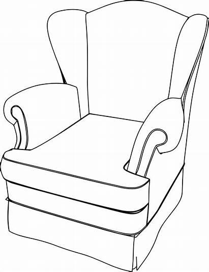 Armchair Drawing Couch Cartoon Sofa Chair Clipart