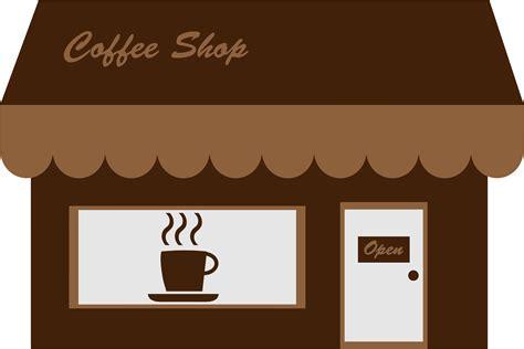 Free no copyright animation cartoon background. Cafe clipart storefront, Cafe storefront Transparent FREE ...