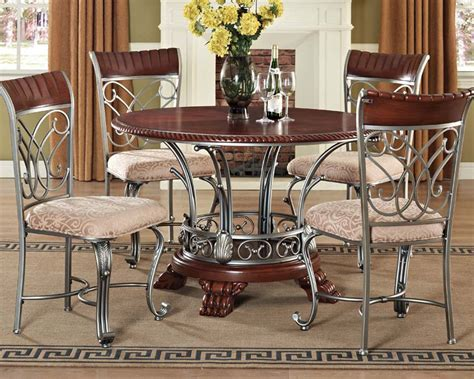 breakfast nooks for dining set omari by acme furniture ac70100set