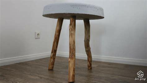 tisch aus beton ᐅ betontisch selber bauen diy anleitung tisch aus beton