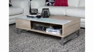 Couch Tisch Eiche : couchtisch azalea sonoma eiche s gerau wei glas 110 cm ~ Whattoseeinmadrid.com Haus und Dekorationen