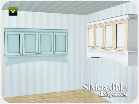 kitchen cabinet curtains simcredible s coastal kitchen arch decor 2x1 2446