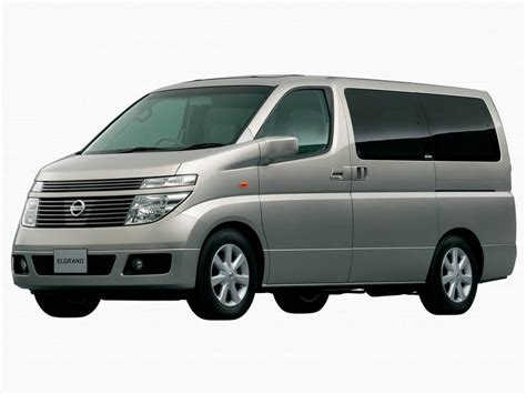 Nissan Elgrand Photo by 2002 Nissan Elgrand Pictures Photos Wallpapers Top Speed