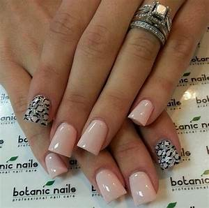 Instagram photo of acrylic nails by botanicnails | Pink ...