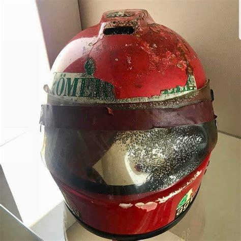 Alan jones (1980), niki lauda. Niki Lauda's helmet that came off in his fiery crash in ...