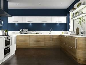 Küche Einrichten Ideen : wandfarbe k che w nde streichen ideen k che einrichten ~ Lizthompson.info Haus und Dekorationen