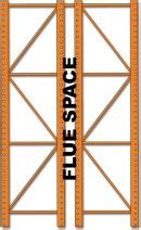 flue space unarco pallet rack  warehouse storage systems