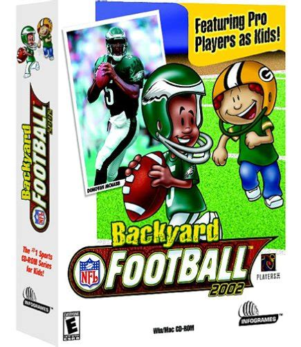 Backyard Football Pc by Backyard Football 2002 Pc Mac Sporting Goods Team Sports