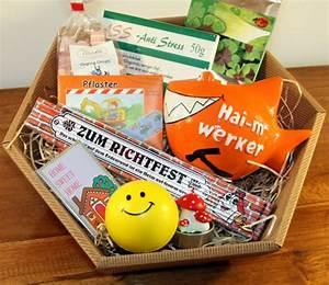 Geschenke Zum Richtfest Ideen : geschenkkorb geschenke richtfest hausbau ~ Frokenaadalensverden.com Haus und Dekorationen