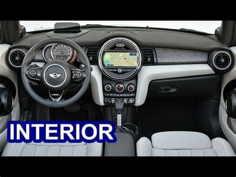 interieur mini 2016 mini cooper s interior youtube