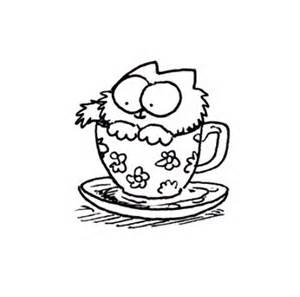 simon s cat free coloring pages of simons cat