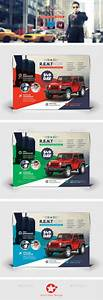 Rent A Car Flyer Template Psd