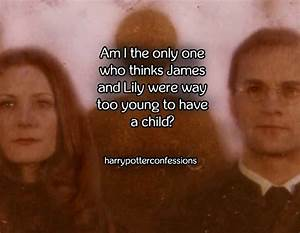 Are James Potter And Lily Evans Too Young To Have