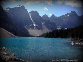 Valley of the Ten Peaks Moraine Lake Alberta Canada