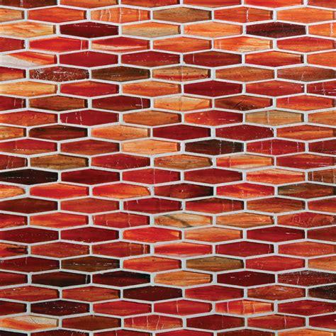 Marrakech Red Glass Tile  For Residential Pros