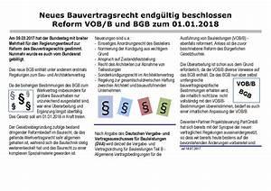 Neues Bauvertragsrecht 2018 : bgb vob b neues bauvertragsrecht endg ltig beschlossen ~ Lizthompson.info Haus und Dekorationen
