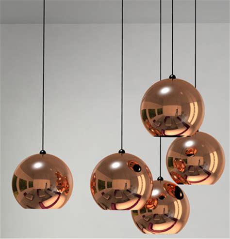 copper pendant pendants tom dixon copper shade ls nova68 modern design
