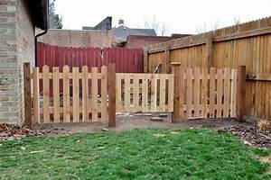 outdoor updates garden fence ash and orange With small dog fences for outside