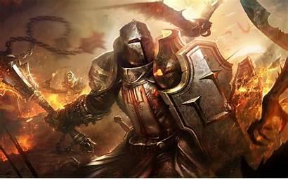 Crusader Diablo Warrior Helmet Evil Armour Daemons