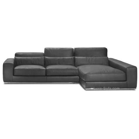 canape luxe canapé d 39 angle de luxe en cuir de vachette matisse verysofa