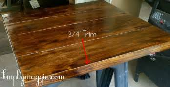 kitchen island with cutting board top diy wide plank butcher block counter tops simplymaggie