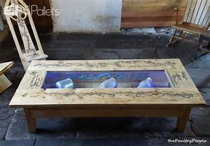 1001pallets spring contest 1st place glow in the dark With glow in the dark coffee table
