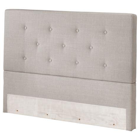 Bekkestua Headboard Natural Colour Standard King Ikea