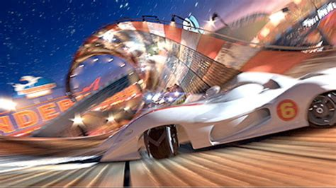 First Pictures From Speed Racer Movie