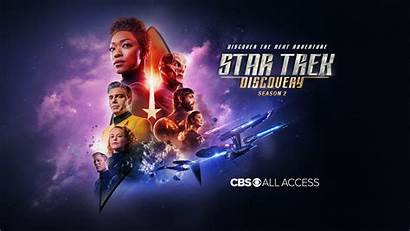 Trek Discovery Star Season Poster Key Second