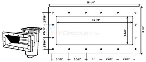 Hayward Sp-1085 Face Plate/gaskets Parts