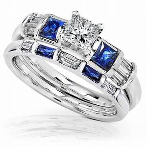 2018 latest platinum diamond and sapphire engagement rings for Sapphire wedding rings meaning