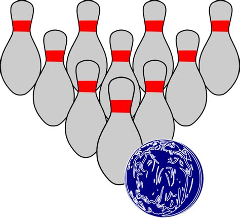 Free Bowling Clipart Bowling Duckpins Clip At Clker Vector Clip