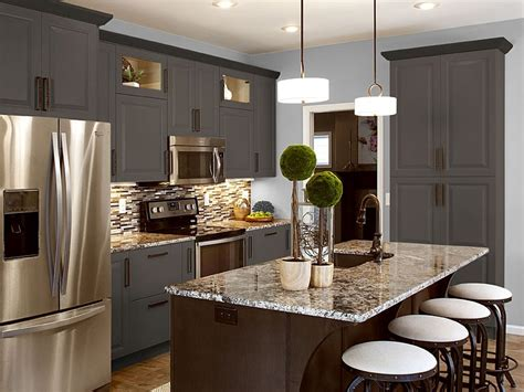 leaders in kitchen and bath showplace bronze cabinet color designed to accent popular