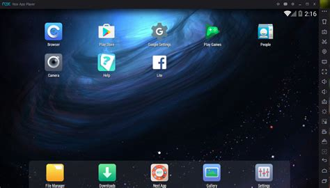 nox android emulator for windows 10 8 1 8 7 windows 10 pro