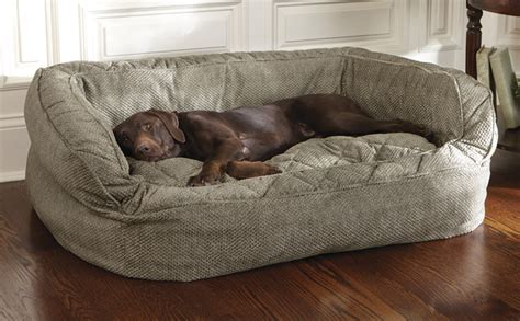 Orvis Dog Beds Sale by Dog Bed With Bolster Lounger Deep Dish Dog Bed Orvis Uk