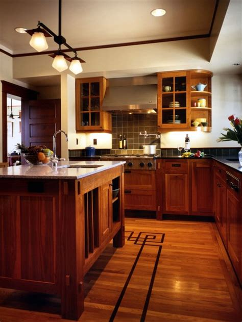 wood cabinets wood floors home design ideas pictures remodel  decor