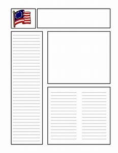 Blank newspaper template for kids free 316jpg 270x350 for Free printable newspaper template for students
