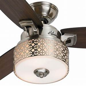 Hunter Camille 52 In  Brushed Chrome Indoor Ceiling Fan