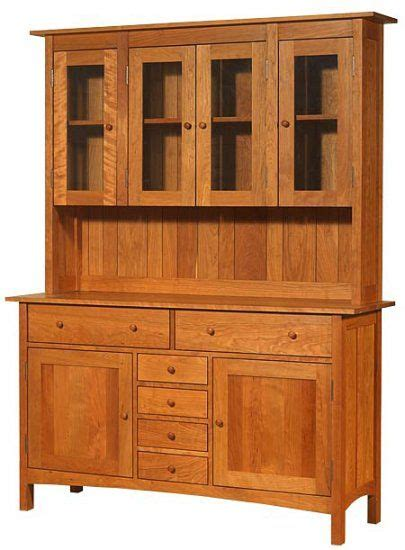 buffet hutch plans shaker sideboard plans woodworking projects plans