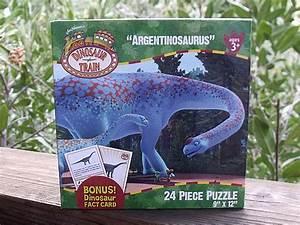 Dinosaur Train Argentinosaurus Puzzle | Mama Likes This