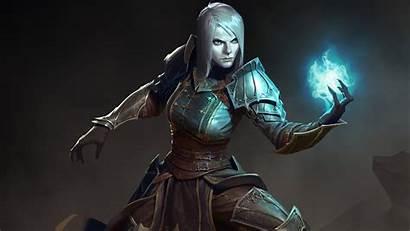 Diablo Necromancer Female Iii 4k Wallpapers 1080p