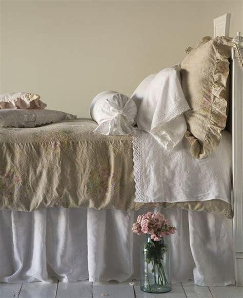 shabby chic bed linen shabby chic linen bedding dream home pinterest