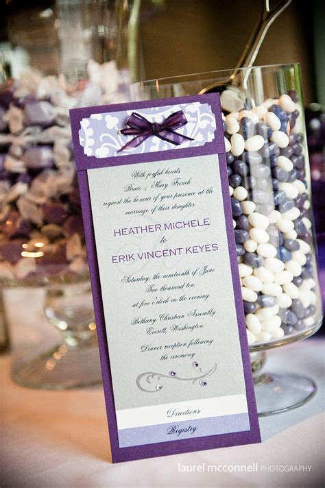 a very pretty in purple diy seattle wedding 187 laurel