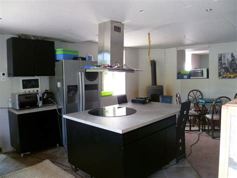 modele cuisine avec ilot central table modele cuisine avec ilot central table maison design