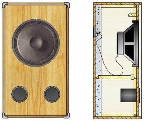 bass cabinet design build wooden bass speaker cabinet plans plans download