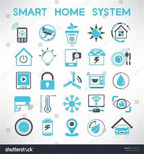 Smart Home Icon : smart home icons set home automation stock vector 214556719 shutterstock ~ Markanthonyermac.com Haus und Dekorationen